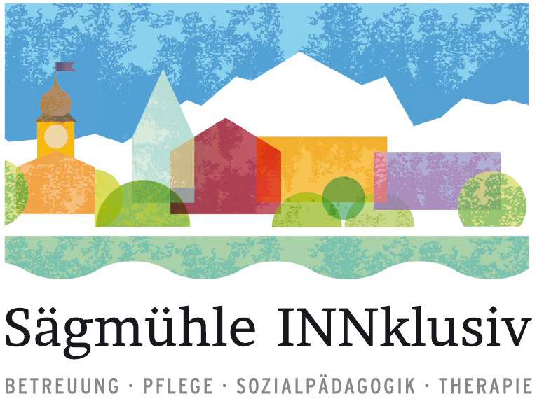 Sozialtherapeutisches Wohnen, Seniorenwohnen, junge Pflege und Demenzpflege am Wendelstein – Sägmühle INNklusiv Logo